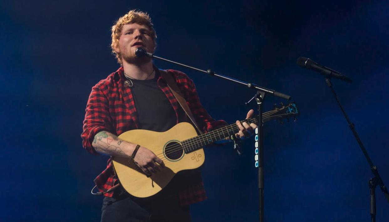 Ed Sheeran at the Glastonbury Festival 2017 (Getty Images)