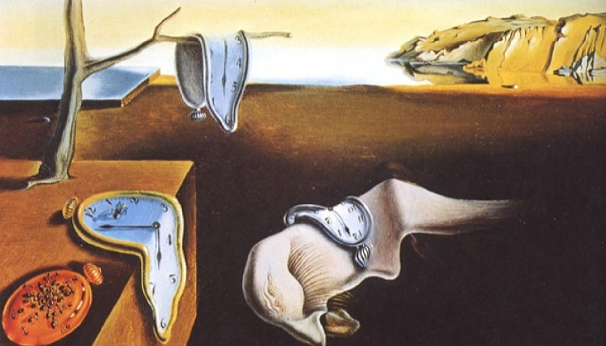 Dalí's most famous work: The Persistence of Memory