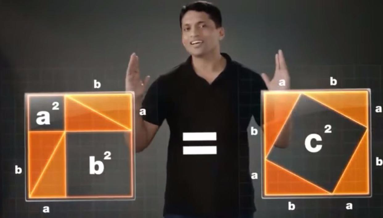Screengrab from Byju's App's YouTube advertisement