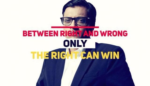 Arnab back to fight by your side