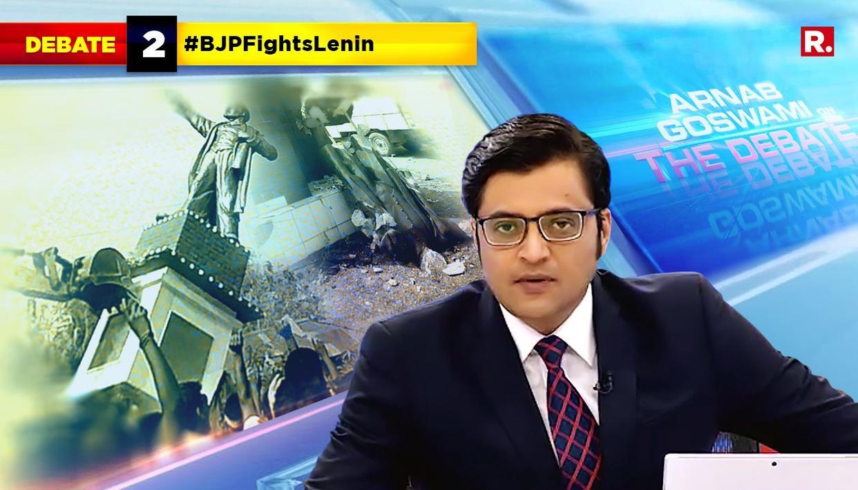 HIGHLIGHTS ON #BJPFightsLenin