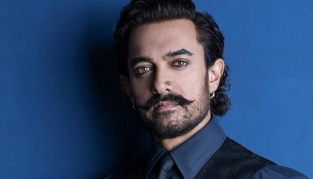 Aamir gets a surprise by this actress